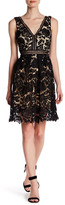 Romeo & Juliet Couture V-Neck Sleeveless Lace Dress