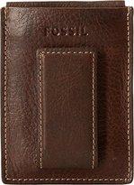Fossil Men's Lincoln Magnetic Card Holder