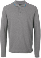 Z Zegna long-sleeved polo shirt