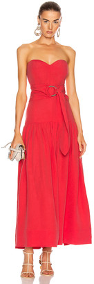 Mara Hoffman Augustina Dress in Red | FWRD