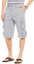 Roundtree & Yorke Big & Tall 9-Pocket Lightweight Twill Cargo Shorts