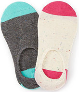 Copper Key 2-Pack Fleck Fun Low Show Socks