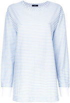 Bassike striped sweatshirt - women - Cotton/Nylon - 6