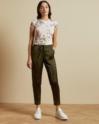 Ted Baker ROBUN Jasmine printed fitted t-shirt