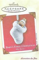 "Hallmark Baby's First Christmas"" Keepsake Ornament issued 2002"