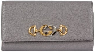 Gucci Leather Zumi Wallet