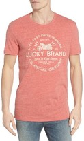 Lucky Brand Men's Drive Faster Graphic T-Shirt