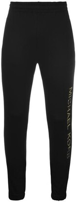 MICHAEL Michael Kors MMK gold logo jogger Ld10