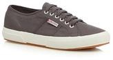 Superga Dark Grey 'cotu Classic' Lace Up Shoes