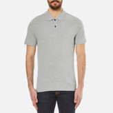 Belstaff Men's Granard Short Sleeve Polo Shirt Grey Melange