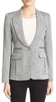Smythe Tweed Pleat Pocket Blazer