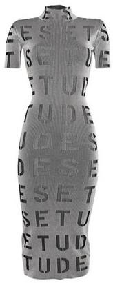 Études 3/4 length dress