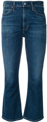 Citizens of Humanity Kick Flare Cropped Jeans