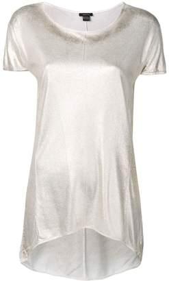 Avant Toi metallic effect T-shirt