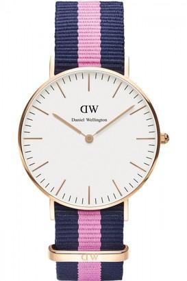 Daniel Wellington Ladies Winchester Rose 36mm Watch DW00100033