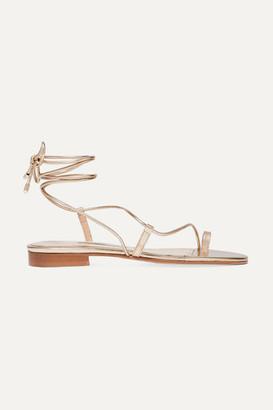 Emme Parsons Susan Metallic Leather Sandals - Gold