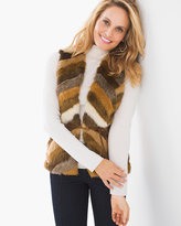 Chico's Faux-Fur Roxie Vest