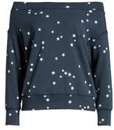 Sundry Star Off the Shoulder Pullover