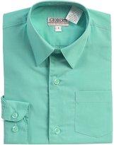 Gioberti Big Boy's Long Sleeve Solid Dress Shirt