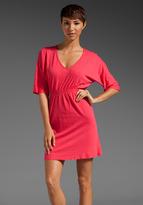Bobi Light Weight Jersey Empire Waist Dress