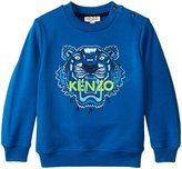Kenzo Arnaud Sweater (Toddler) - Blue - 2 Years