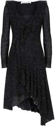 Philosophy di Lorenzo Serafini Glitter Ruffle Dress