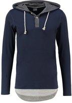 Jack & Jones Jorthumb Slim Fit Long Sleeved Top Navy Blazer