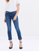 Current/Elliott The Cropped Straight Jeans