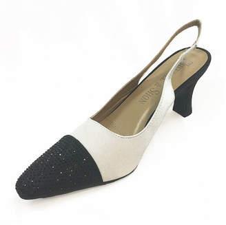 Whittall & Shon Womens Spectator Soft Toe Cone Heel Pumps