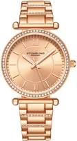 Stuhrling Original Women's Aria Rosetone Dial Watch