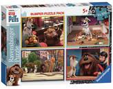 Ravensburger Secret Life Of Pets 4 x 100 Piece Puzzle