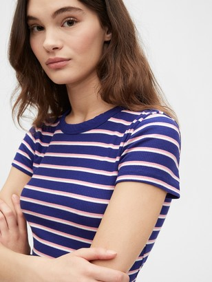 Gap Ribbed Crewneck T-Shirt