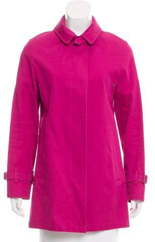 Burberry Short Button-Up Coat