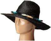 BCBGMAXAZRIA Tassel Panama Hat