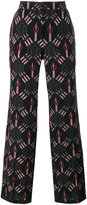 Valentino Love Blades pyjama trousers - women - Silk - S