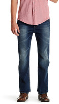 Seven7 Luxury Stretch Denim Flap Pocket Slim Boot Fit Jean