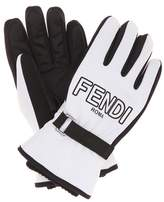 Fendi Printed gloves