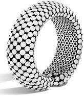 John Hardy Dot Medium Sterling Silver Flex Cuff Bracelet