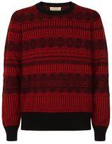 Burberry Fairisle Knit Sweater