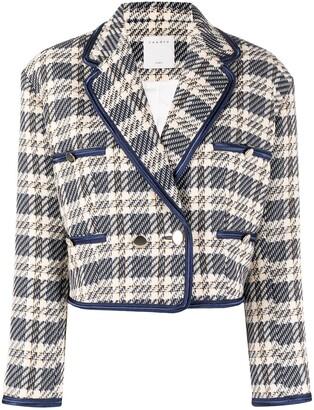 Sandro Tweed Cropped Jacket