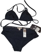 Burberry Black Cotton - elasthane Swimwear