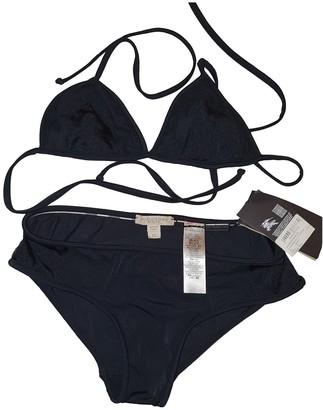 Burberry Black Cotton - elasthane Swimwear for Women