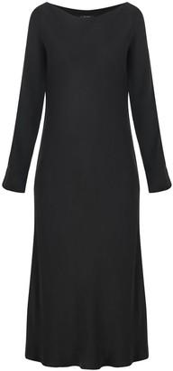 Flowy Minimal Dress In Black
