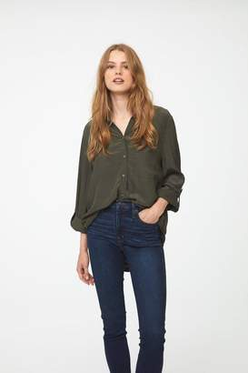 BeachLunchLounge Olive Button Down