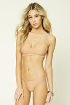 Forever 21 FOREVER 21+ Stretch-Knit Bikini Bottom