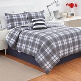 Izod Fairfax Plaid Reversible Comforter Set