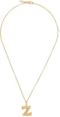 Chloé letter Z pendant necklace