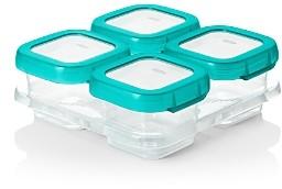 OXO 4-Piece Baby Blocks Freezer Storage Containers