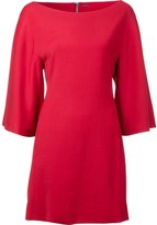 ADAM by Adam Lippes structured boat neck dress - women - Viscose - 4