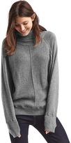 Gap Cozy turtleneck waffle sweater